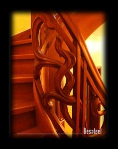 Pracownia Rzeźbiarska Besaleel - Balustrada