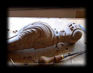 Pracownia Rzeźbiarska Besaleel - Gerydon secesyjny