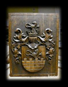 Pracownia Rzeźbiarska Besaleel - Herb rodowy