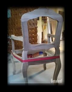 Pracownia Rzeźbiarska Besaleel - Krzesło francuskie
