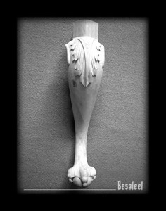 Pracownia Rzeźbiarska Besaleel - Nogi stylizowane