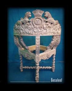Pracownia Rzeźbiarska Besaleel - Fotel gdański