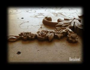 Pracownia Rzeźbiarska Besaleel - Kominek barokowy