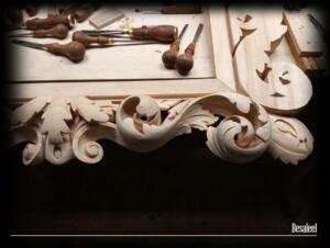Pracownia Rzeźbiarska Besaleel - Rama Akant