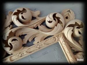 Pracownia Rzeźbiarska Besaleel - Rama Akant 2