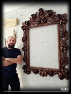 Pracownia Rzeźbiarska Besaleel - Rama Akant 2a